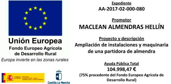 (Español) Fondo Europeo Agricultura y desarrollo rural